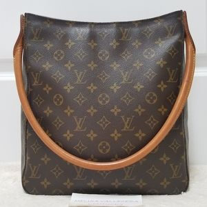 💕Authentic LV Looping GM Shoulder/Tote Bag